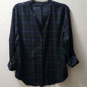 Sanctuary Plaid Button Down